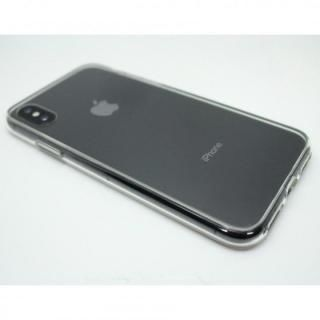 【iPhone X/XSケース】A+ 背面強化ガラス×TPUハイブリッドケース Clear Panel Case for iPhone XS/iPhone X_8