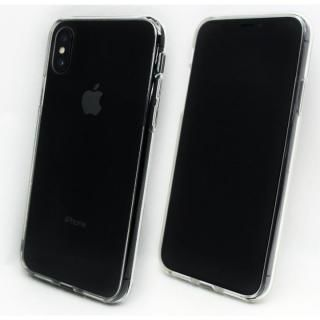 【iPhone X/XSケース】A+ 背面強化ガラス×TPUハイブリッドケース Clear Panel Case for iPhone XS/iPhone X_9