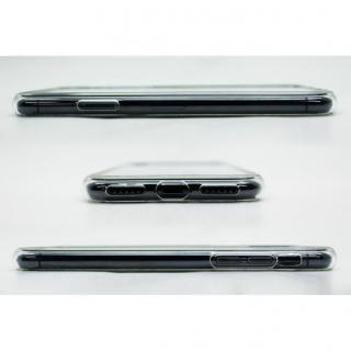 【iPhone X/XSケース】A+ 背面強化ガラス×TPUハイブリッドケース Clear Panel Case for iPhone XS/iPhone X_11