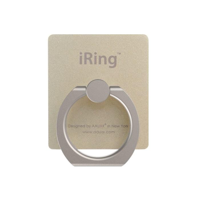 iRing アイリング スマホリング iPhone落下防止リング&スタンド ゴールド_0
