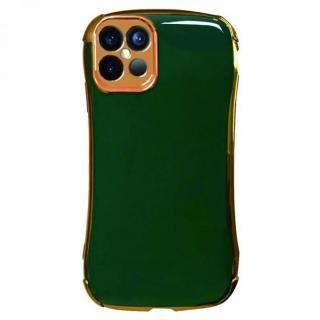 iPhone 12 Pro Max (6.7インチ) ケース Csenese iPhoneケース メッキフレーム グリーン iPhone 12 Pro Max