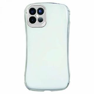 iPhone 12 Pro Max (6.7インチ) ケース Csenese iPhoneケース メッキフレーム ホワイト iPhone 12 Pro Max