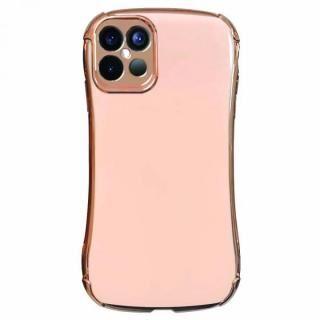 iPhone 12 Pro Max (6.7インチ) ケース Csenese iPhoneケース メッキフレーム ピンク iPhone 12 Pro Max