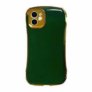 iPhone 12 mini (5.4インチ) ケース Csenese iPhoneケース メッキフレーム グリーン iPhone 12 mini