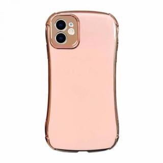 iPhone 12 mini (5.4インチ) ケース Csenese iPhoneケース メッキフレーム ピンク iPhone 12 mini
