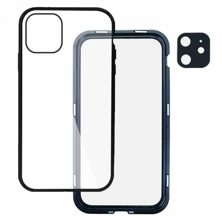 Hash feat.360°ガード iPhoneケース ブラック iPhone 12 mini_0