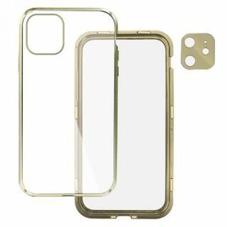 iPhone 12 mini (5.4インチ) ケース Hash feat.360°ガード iPhoneケース ゴールド iPhone 12 mini