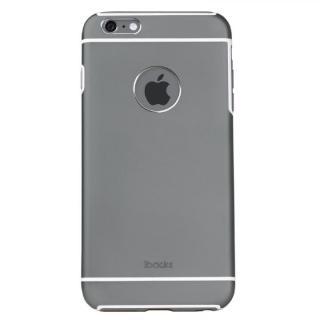 耐衝撃 アルミケース ibacks Essence Armor スペースグレイ iPhone 6 Plus