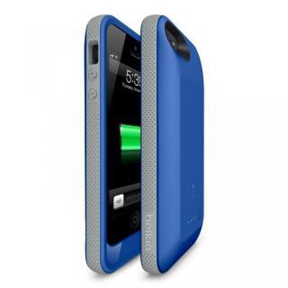 【iPhone SE ケース】iPhone SE/5s/5用充電ケース 2000mAh Grip シビックブルー/グレイ