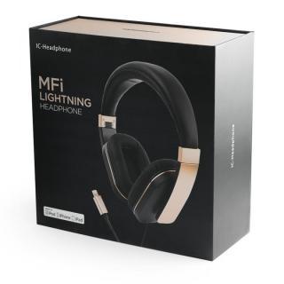 ハイレゾ対応 Lightning接続ヘッドホン IC-Headphone_8