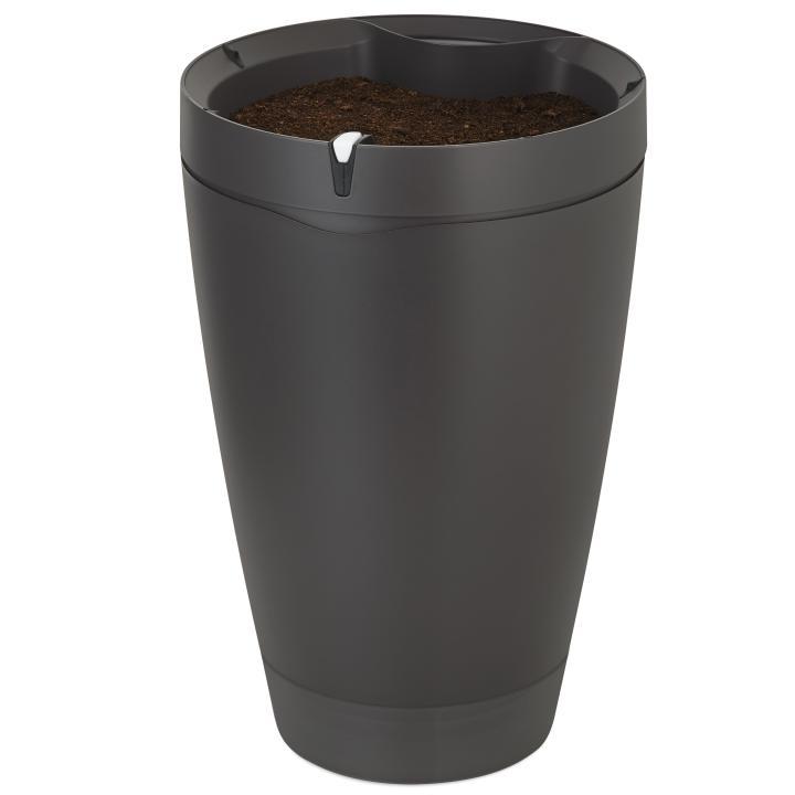 スマートポット 植木鉢 Parrot Pot ブラック_0