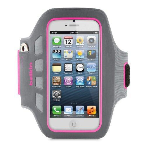 【iPhone SE/5s/5ケース】Ease Fit Plus iPhone 5c/5s/5 アームバンド (ピンク)_0