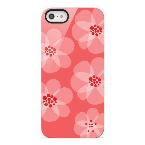 iPhone SE/5s/5 ケース Shield Blooms iPhone SE/5s/5 (レッド)_0