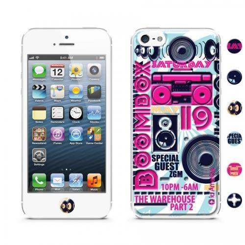 【iPhone SE/5s/5ケース】id America Cushi iPhone SE/5s/5 -DJ 【Boombox】_0