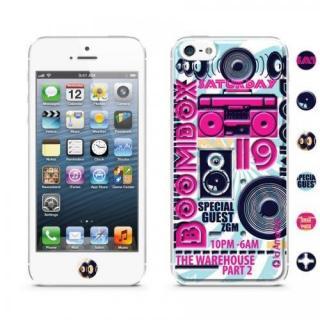 id America Cushi iPhone SE/5s/5 -DJ 【Boombox】