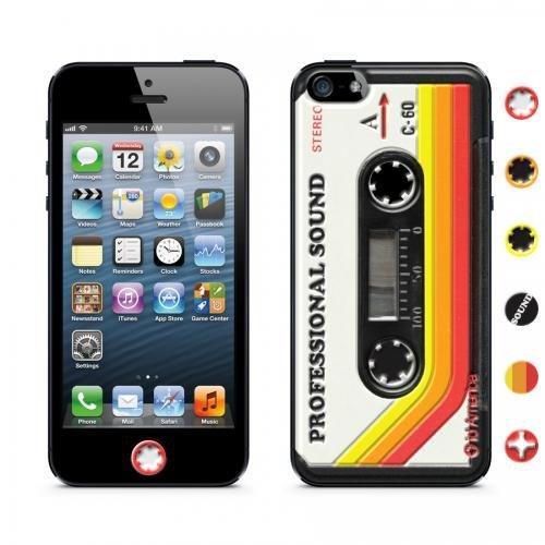 【iPhone SE/5s/5ケース】id America Cushi iPhone SE/5s/5-Cassette 【Red】_0