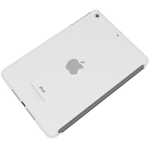 エアージャケットセット  iPad mini/2/3(スマートカバー対応タイプ)(クリア)