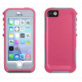 防水・防塵・耐衝撃対応 OtterBox Preserver  iPhone SE/5s/5 ブレイズピンク/パウダーグレー
