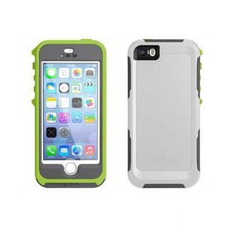 防水・防塵・耐衝撃対応 OtterBox Preserver  iPhone SE/5s/5 ストレートグレー/グローグリーン