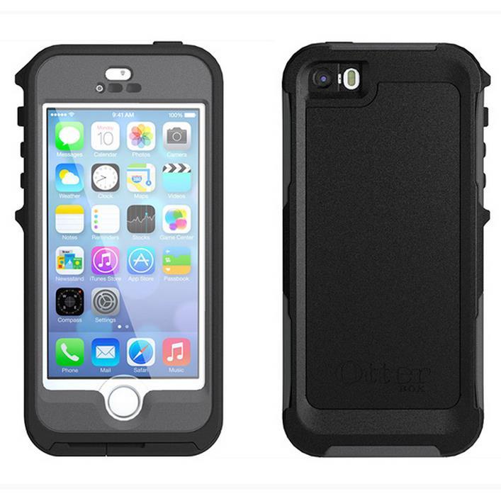 【iPhone SE/5s/5ケース】OtterBox Preserver iPhone SE/5s/5 CARBON ブラック/スレートグレー_0