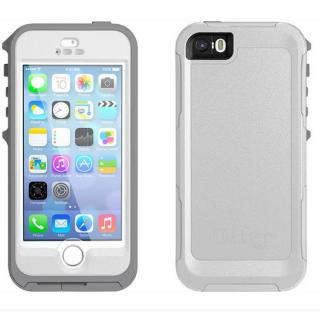 OtterBox Preserver for iPhone 5s/5 ホワイト/ガンメタルグレー