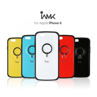 【iPhone6ケース】落下防止リング付きケース iAMK Finger Ring Bumper ホワイト iPhone 6_5
