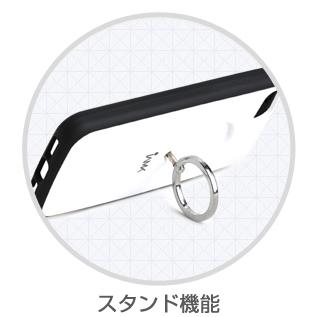【iPhone6ケース】落下防止リング付きケース iAMK Finger Ring Bumper ブラック iPhone 6_2