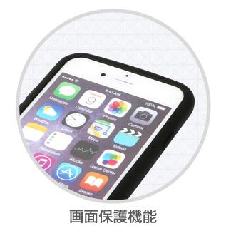 【iPhone6ケース】落下防止リング付きケース iAMK Finger Ring Bumper ブラック iPhone 6_4