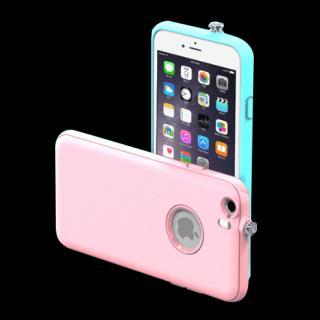 【iPhone6ケース】着信でスワロフスキーが輝く AEONAZ TWINKLE-i6 ホワイト iPhone 6_3