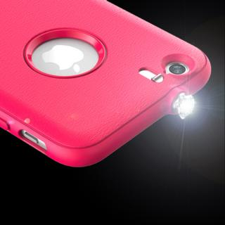 【iPhone6ケース】着信でスワロフスキーが輝く AEONAZ TWINKLE-i6 ホワイト iPhone 6_6