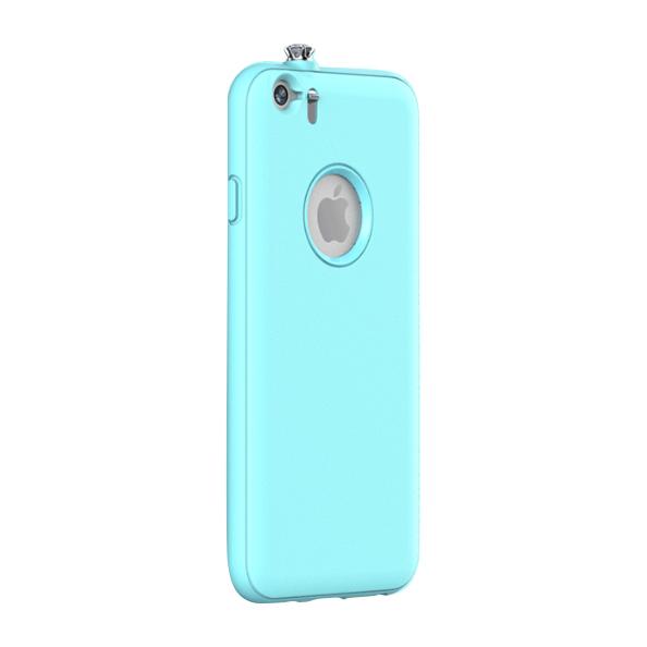 【iPhone6ケース】着信でスワロフスキーが輝く AEONAZ TWINKLE-i6 ミント iPhone 6_0