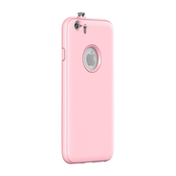 iPhone6 ケース 着信でスワロフスキーが輝く AEONAZ TWINKLE-i6 ピンク iPhone 6_0