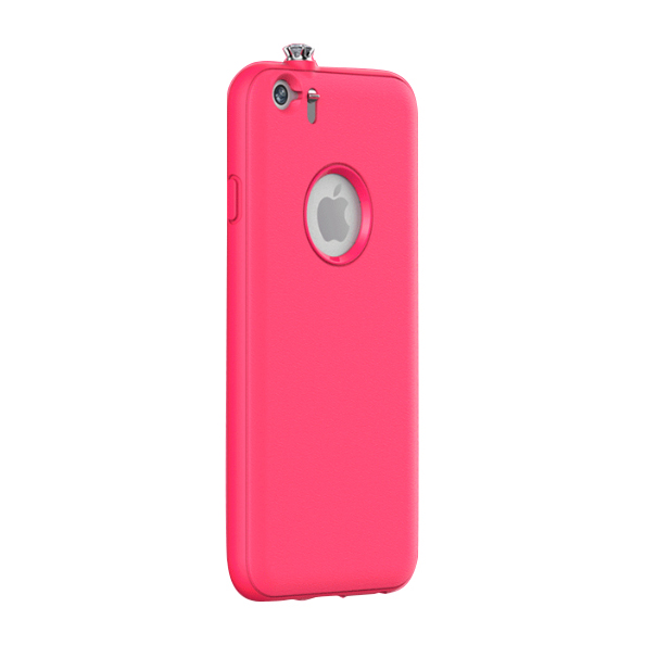 iPhone6 ケース 着信でスワロフスキーが輝く AEONAZ TWINKLE-i6 ホットピンク iPhone 6_0