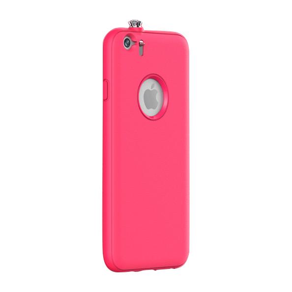【iPhone6ケース】着信でスワロフスキーが輝く AEONAZ TWINKLE-i6 ホットピンク iPhone 6_0