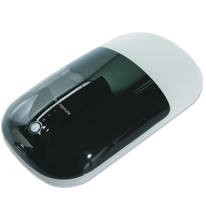 スマートフォンUV除菌器 Dr.カプセル ブラック_0
