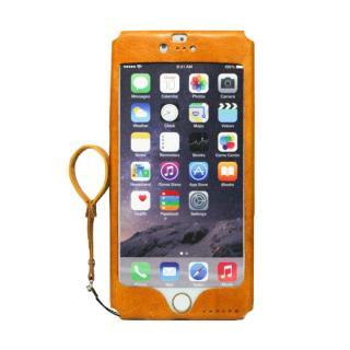 本革一枚で包み込むケース mobakawa イタリアンホース ナチュラル iPhone 6 Plus