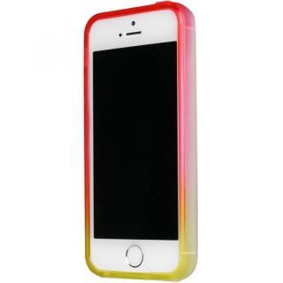 染 iPhone SE/5s/5 TPUバンパー蘭