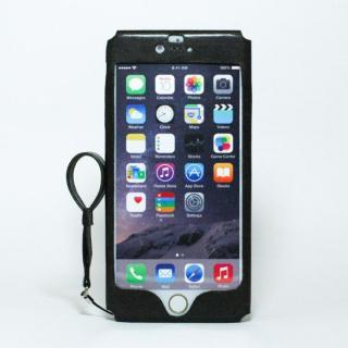 本革一枚で包み込むケース mobakawa イタリアンホース ブラック iPhone 6 Plus