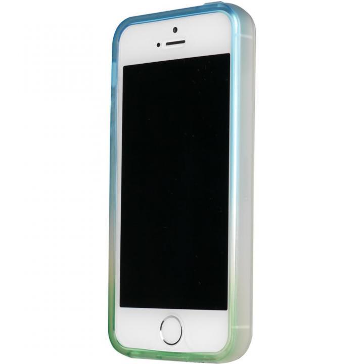 iPhone SE/5s/5 ケース 染 iPhone SE/5s/5 TPUバンパー爽_0