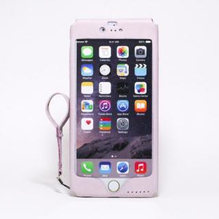 本革一枚で包み込むケース mobakawa ラディアント・オーキッド iPhone 6s Plus/6 Plus