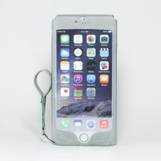 本革一枚で包み込むケース mobakawa アッシュグレー iPhone 6 Plus