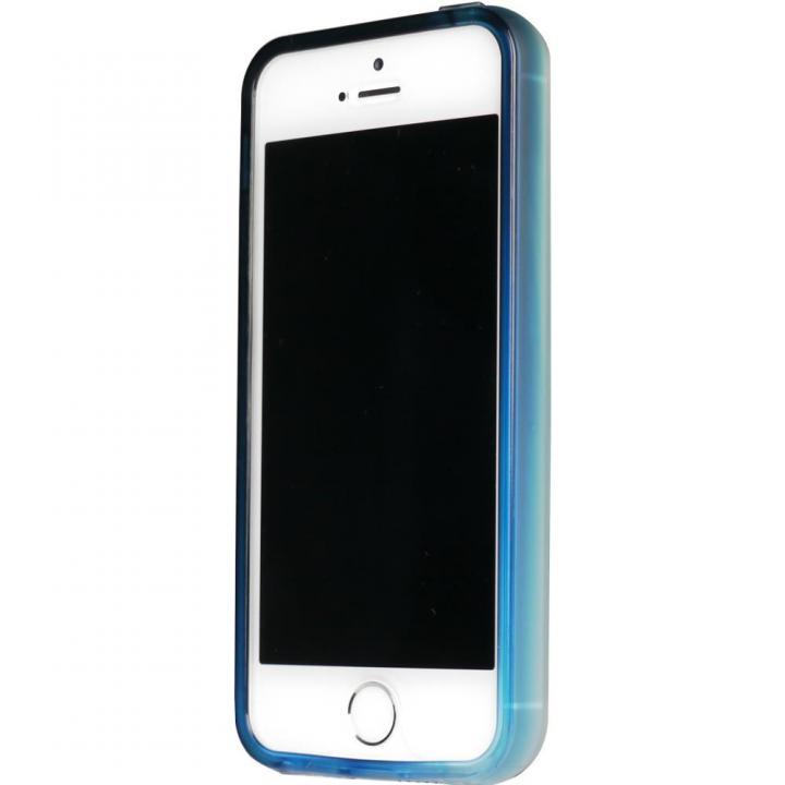 iPhone SE/5s/5 ケース 染 iPhone SE/5s/5 TPUバンパー藍_0