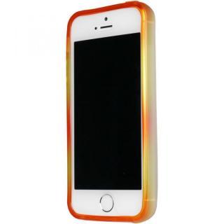 iPhone SE/5s/5 ケース グラデーションが美しい 染 iPhone SE/5s/5 バンパー BUMPER 橙