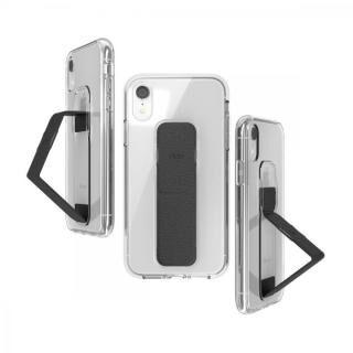 iPhone XR ケース CLCKR CLEAR GRIPCASE FOUNDATION CLEAR/BLACK iPhone XR