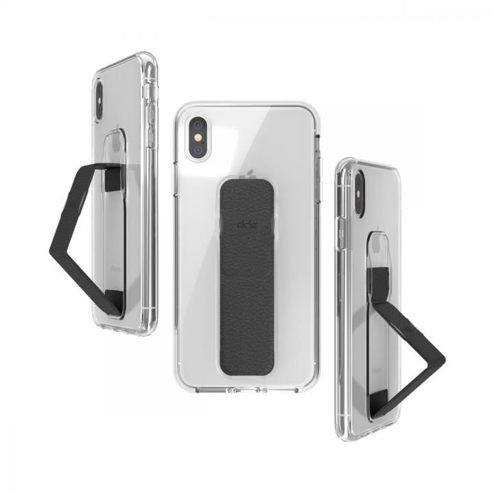 iPhone XS Max ケース CLCKR CLEAR GRIPCASE FOUNDATION CLEAR/BLACK iPhone XS Max_0