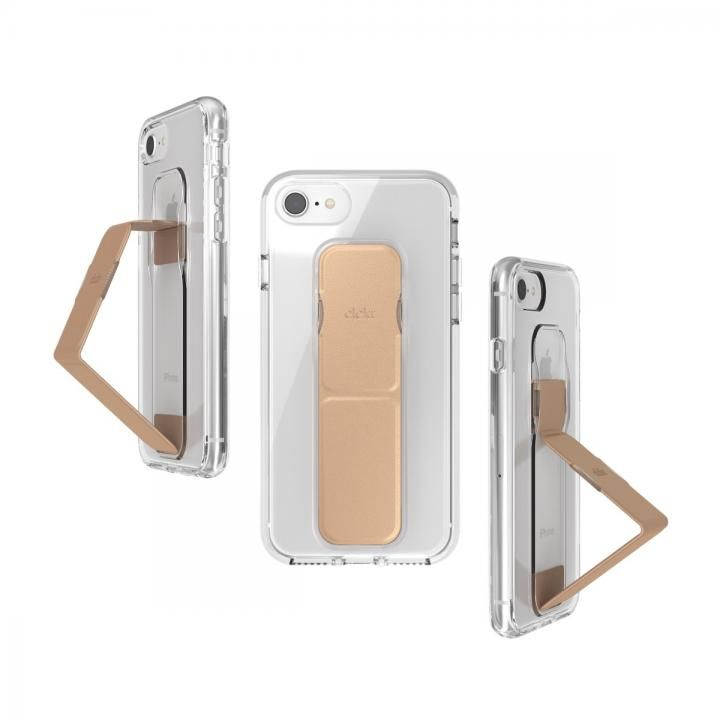 iPhone8/7/6s/6 ケース CLCKR CLEAR GRIPCASE FOUNDATION Clear/Rose Gold iPhone 8/7/6s/6_0