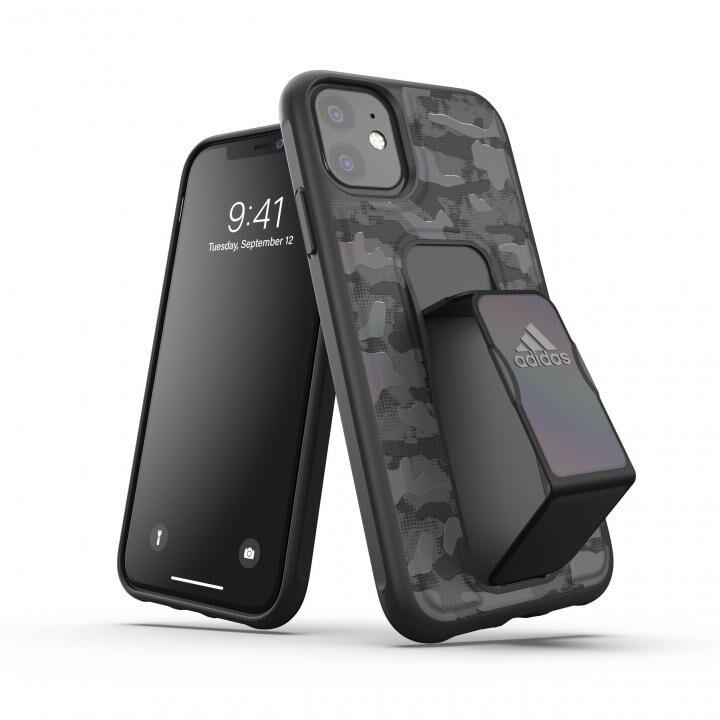 iPhone 11 ケース adidas Performance Grip case CAMO FW19 Black iPhone 11_0