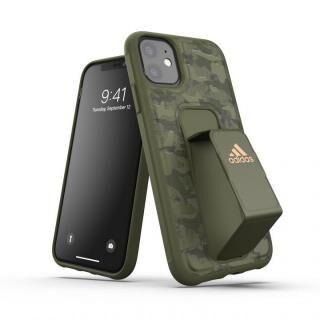 iPhone 11 ケース adidas Performance Grip case CAMO FW19 Tech olive iPhone 11