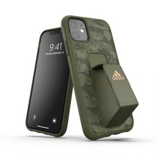 iPhone 11 ケース adidas Performance Grip case CAMO FW19 Tech olive iPhone 11