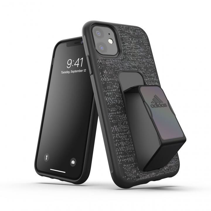 iPhone 11 ケース adidas Performance Grip case iridescent FW19 Black iPhone 11_0